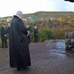 Biskupur við minnisvarðan